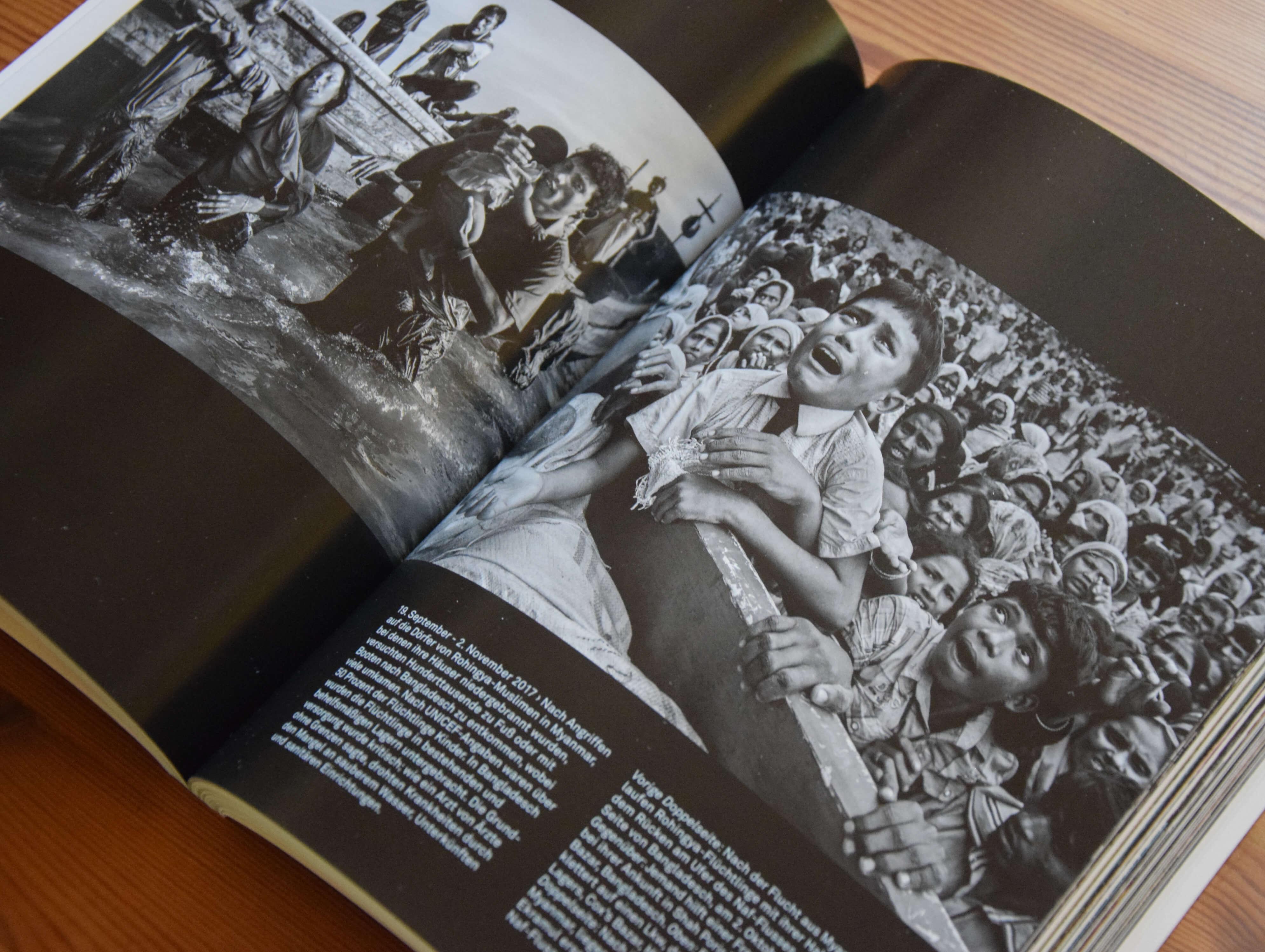 Für seine Bilder über die Rohingya wurde Kevin Frayer ausgezeichnet (Foto: Lisa Knoll)