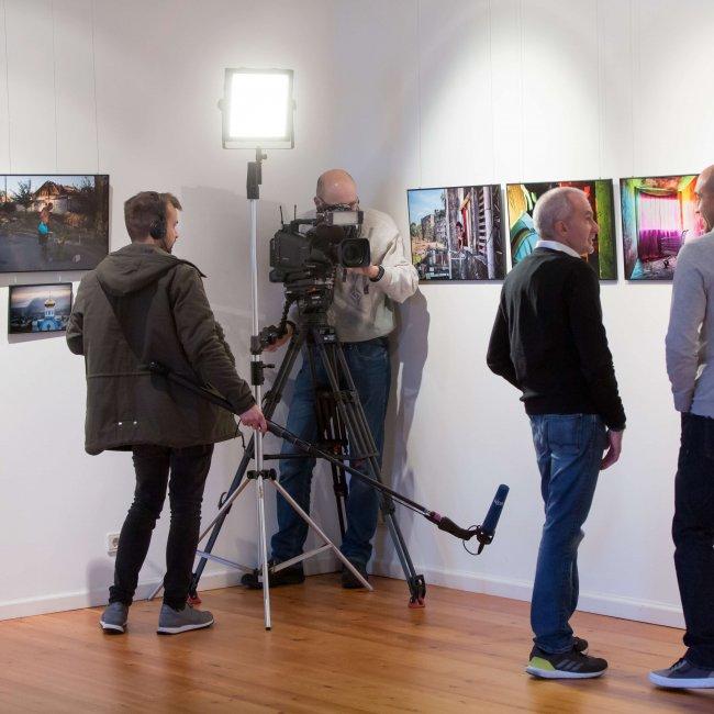 Oldenburg, Niedersachsen, DEU, 17.02.2018, Eröffnung der Ausstellung