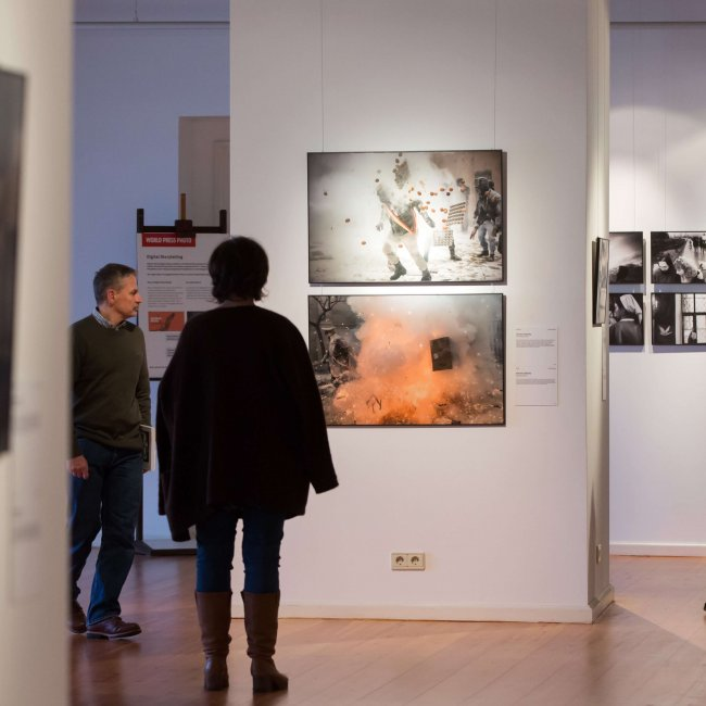 Eröffnung der Ausstellung Word Press Photo in Oldenburg